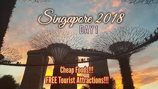 Exploring Singapore in 2 Days - Day 1