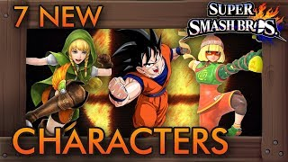7 New Characters Who Could Appear in Smash Bros. Switch