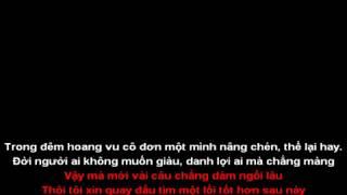 Kiep bon chen _ Hoang Minh Karaoke Tone 3