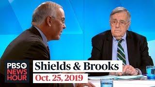 Shields and Brooks on Trump's judicial picks, Bill Taylor's testimony