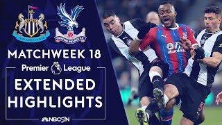 Newcastle United v. Crystal Palace | PREMIER LEAGUE HIGHLIGHTS | 12/21/19 | NBC Sports
