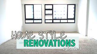 Flying Pistachios Home Renovation Progress / Receiving Goods from Tao Bao