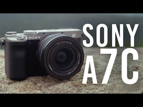 Sony a7C Mirrorless Digital Camera | First Look