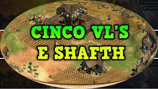 Age of Empires 2 HD 5 VLS e o Shafth AoE2HD Gameplay PT BR