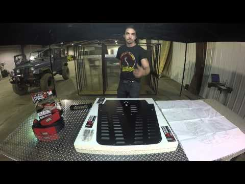 Poison Spider Hood Louver Install Video