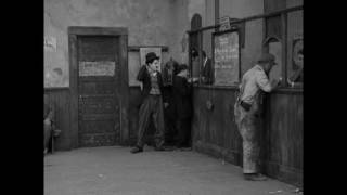 "Charlie Chaplin at the Employment Office (clip from ""A Dog's Life"")"