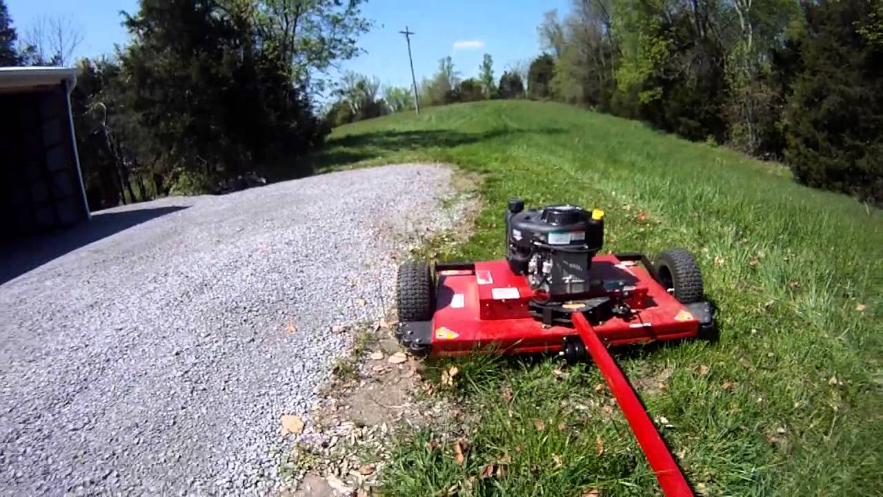 Swisher 44 Quot Mower Good Amp Bad Youtube
