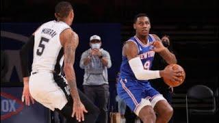 San Antonio Spurs vs New York Knicks Full Game Highlights   May 13   2021 NBA Season