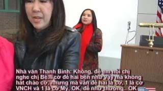 Ca sĩ Mai Khôi tại vùng Hoa Thịnh Đốn