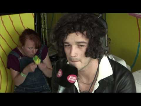 Interview The 1975 (Rock Werchter 2016)