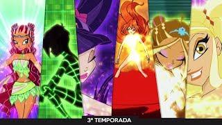Clube das Winx | 3ª Temporada: Todas as Transformações Enchantix!