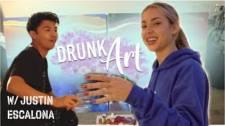 Painting with Wine? | CHARLY JORDAN