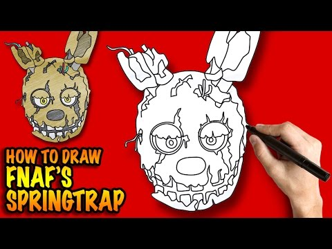 how to draw fnaf characters step by step