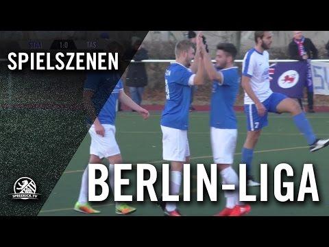 SC Staaken - SV Tasmania Berlin (Berlin-Liga) - Spielszenen | SPREEKICK.TV