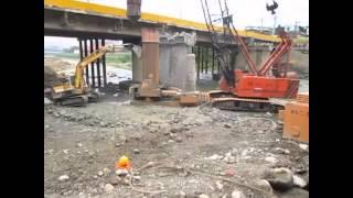 台3線橫溪橋改建工程施工影片