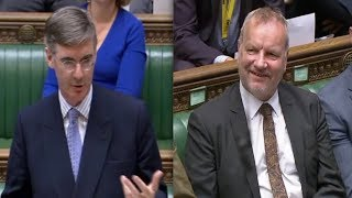 Jacob Rees-Mogg teaches SNP a history lesson in the House of Commons