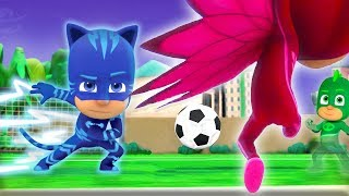 PJ Masks Full Episodes Football Fever! ⚽️WORLD CUP 2018 Special ⚽️Superhero Cartoons for Kids