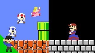 If Peach and Mario switched places