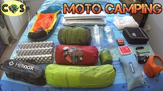 MOTO CAMPING: Dual Sport Camping Gear Overview