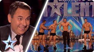 These dancers make David blush! | Britain's Got Talent Unforgettable Audition