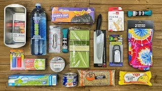 $20 Dollar Store Survival Kit - 7 Day Survival Challenge - The Build