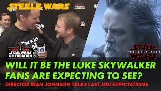 Rian Johnson on the Luke Skywalker fan expectations in The Last Jedi - Steele Wars interview