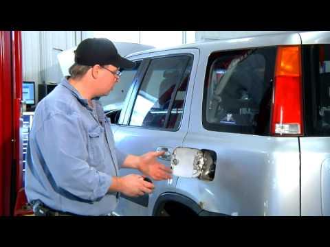 Defrosting a Gas Cap