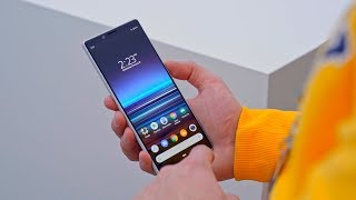 Sony Xperia 1 и Xperia 10 —экран 21:9