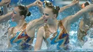 Championnats du Monde à Shanghai 2011 - Equipe Libre Russie (France Ô)