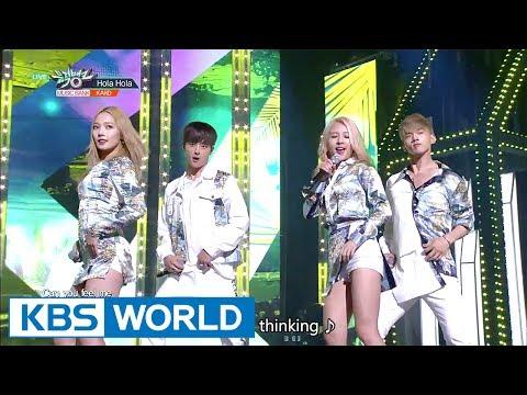 KARD - Hola Hola [Music Bank / 2017.07.21]