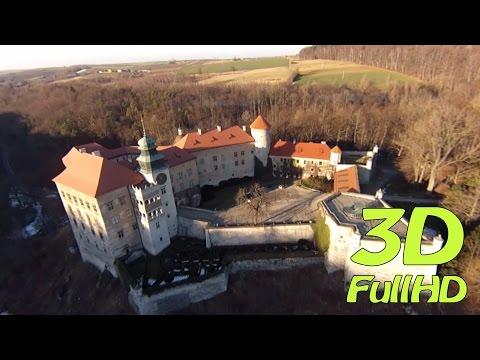 [3DHD] Pieskowa Skała Castle / Zamek w Pieskowej Skale, Sułoszowa, Poland / Polska