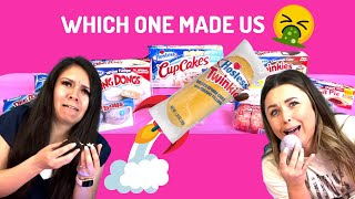 We tried EVERY HOSTESS PRODUCT! (Part 1)
