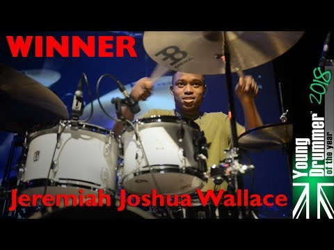Young Drummer of the Year 2018 - WINNER - Jeremiah Joshua Wallace