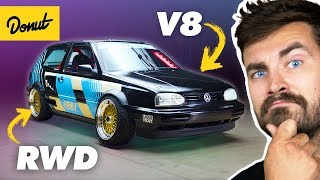 What it Takes to Build a RWD VW Golf
