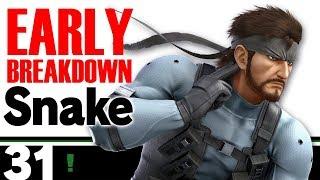 SNAKE MOVESET BREAKDOWN CHARACTER MECHANICS - Super Smash Bros. Ultimate