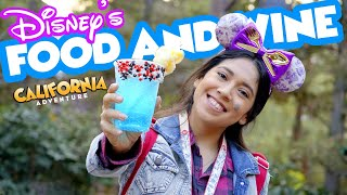 Exciting Foodie Guide to Food and Wine Festival at Disney California Adventure 2019