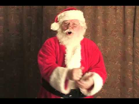 Santa Claus learns to hit the HO!