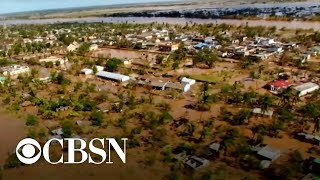 Tropical cyclone makes landfall in Mozambique