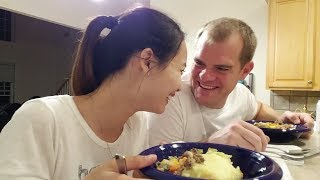 VLOG #54: Kỷ niệm món ăn đầu tiên anh xã nấu cho ăn khi còn hẹn hò