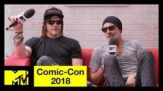'The Walking Dead' Cast on Season 9 & Jeffrey Dean Morgan Talks 'Flashpoint' | Comic-Con 2018 | MTV