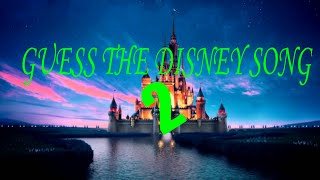 Guess the Disney Song 2
