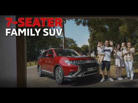 Mitsubishi Outlander - the Best Selling 7-Seater SUV