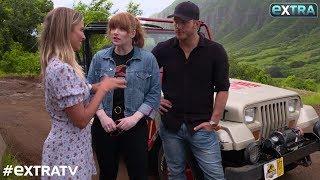 Chris Pratt & Bryce Dallas Howard on Their Kids' Love of Dinosaurs