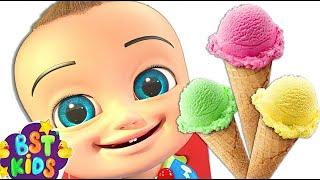 Songs for Children | Yummy Ice cream for Kids