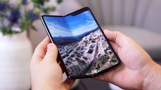Mein Erster Eindruck zu Samsungs faltbarem Smartphone: Galaxy Fold Hands On! - felixba