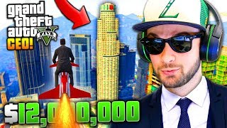 """BECOMING A """"CEO""""... ($12,000,000 SPENDING SPREE)! - GTA 5 Online w/ Ali-A"""