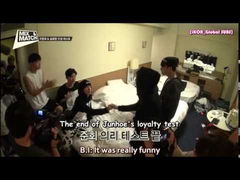 [ENGSUB] MIX & MATCH Unreleased Clip - Yunhyeong and Junhoe's Personality Test