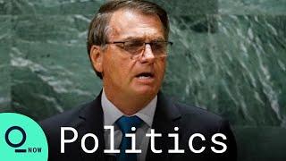 Bolsonaro Defends Brazil's Handling of Covid Pandemic at UN