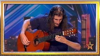 La sensibilidad de este guitarrista hace llorar al jurado   Audiciones 2   Got Talent España 2019
