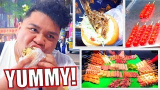 KUMAIN NG STREET FOOD SA TAIWAN (TRAVEL PA MORE!!) | LC VLOGS #237